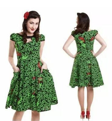 Official DC Batman Poison Ivy Green Dress (rockibily / Gothic/Comic Con) Size 12