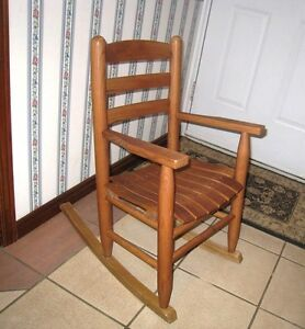 Solid Wood Kids Rocking Chair in great condition