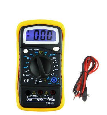 Profesional Digital Multímetro Hold DT850L LED Amperímetro Voltímetro Óhmetro