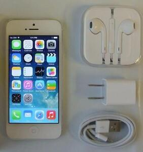Apple iPhone 5 16GB Bell Virgin LTE Black A1428 30 Days Warranty