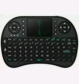 Mini Wireless Keyboard with Built-in Touchpad Mouse & Remote Quality.