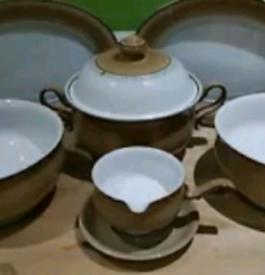 Denby Seville serving dishes set