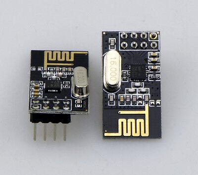 2PCS Arduino NRF24L01+ 2.4GHz Wireless Transceiver Module New