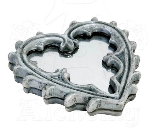 Mirror Gothic Heart Alchemy England Compact Hand Mirror Wiccan Pagan Decor V38