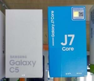 SAMSUNG C5 AND SAMSUNG J7 - DUAL SIM CARD NEW IN BOX