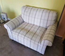 Laura Ashley Snuggler Chair