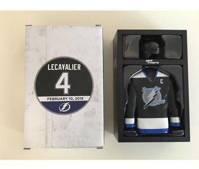 Tampa Bay Lightning Cabinet - Vinny LECAVALIER Tampa Bay Lightning  Locker SGA 2/10/18