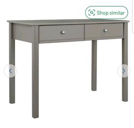 Brand new grey desk