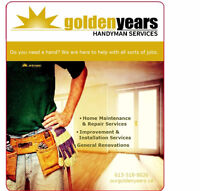 Golden Years Handyman Services - Fence, Deck, Railing, Siding