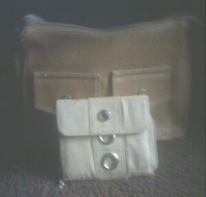 Small cute purse with wallet.