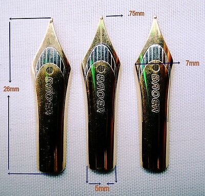 3-Baoer Fountain Pen Nib & Other Pen Can Be Changed..D-Tone