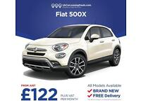 Brand New Fiat 500X on a Lease Contract