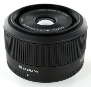 Sigma 30mm Prime lens for Micro 4/3