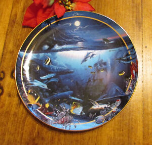 """1996 """"Maui Whale Song"""" by Lassen, Vintage Collector's Plate #4 Kitchener / Waterloo Kitchener Area image 4"""