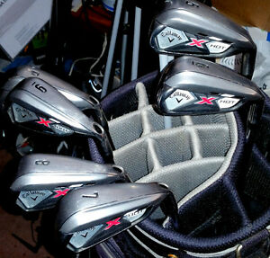 CALLAWAY X HOT PRO HYBRIDS 5 TO PW X HOT LIKE NEW