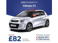 Brand New Citroen C1 On Lease Contracts