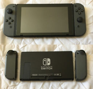 Grey Nintendo Switch only 2 Weeks Old,