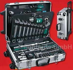 MANNESMANN WERKZEUGKOFFER 159 tlg Werkzeugkasten Werkzeug Werkzeugtrolly