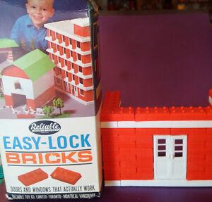 1970 Reliable Toys, Easy-Lock Bricks 5172