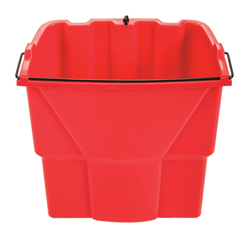 Rubbermaid Commercial  18 qt. Wringer Bucket  Red