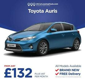 Brand New Toyota Auris On Lease Contracts