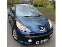 2006/56 reg Peugeot 207 1.6 hdi £30 TAX/kg56sxc