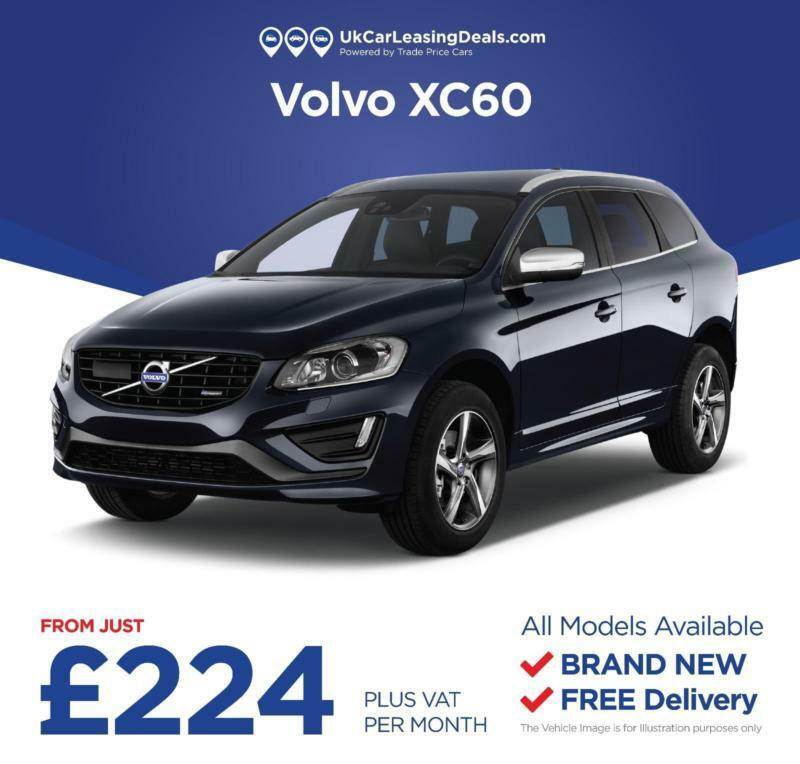 Volvo Lease Rates: Brand New Volvo XC60 On A Lease Contract