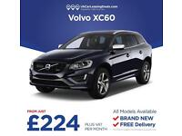 Brand New Volvo XC60 on a Lease Contract