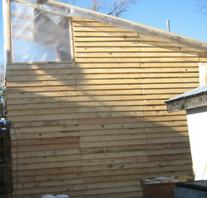 eco friendly sheds, siding