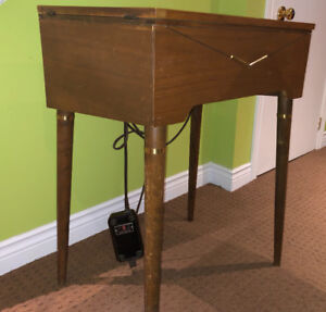 Singer Sewing Machine Model 503J in Table