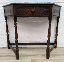 Solid Oak Console Table (DELIVERY AVAILABLE)