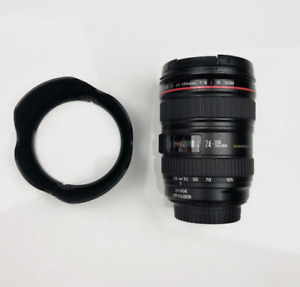 Canon EF Lens 24-105mm 1:4 L Mint Condition New Price