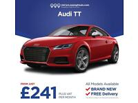 Brand New Audi TT Coupe On Lease Contracts