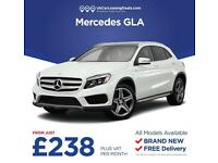 Brand New Mercedes-Benz GLA On Lease Contracts