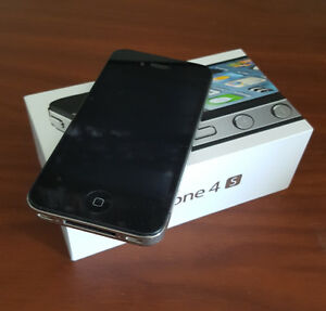 iPhone 4s 16gb - Gently used - Fido
