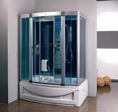 Steam Shower Lodge 1001 NOW Shower Enclosure 9001S W/Bluetooth