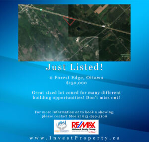 11 Acres for you to build your DREAM HOME on!
