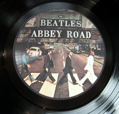 THE BEATLES ABBEY ROAD VINYL LP RETRO BOWL HIGH QUALITY MORE LISTED...