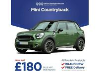 Brand New Mini Countryman on lease contracts