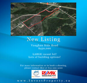 LOT in WOODED AREA to build your PEACEFUL PRIVATE QUIET HOME ON!