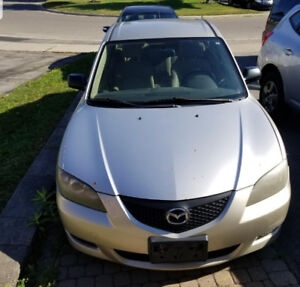 Mazda 3, 2004 for sell as is