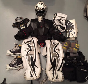 Used Ice Hockey Goalie Equipment - Junior Size