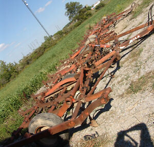 TWO 22 FOOT ALLIS CHALMERS CULTIVATORS