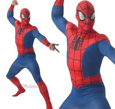 Erwachsene Spiderman Kostüm Herren Skin Offiziell Marvel Superheld Kostüm - Super Kostüm Skins