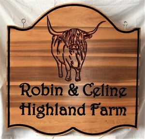 Custom Personalized Wooden Signs and Plaques.