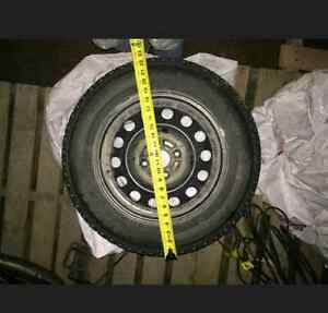 Full set of winter tires! Must go ASAP! Seen one season only!!!