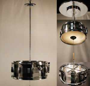 Hard to beat lighting fixture for the musically inclined.