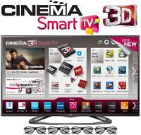 "LED TV 55"" LG-SLIM-SMART WIFI-3D-1080P 120Hz-INBOX 55LA6205-$899"
