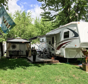 Fifth wheel Cruiser 30 pieds 2007 /4 Bunk Bed