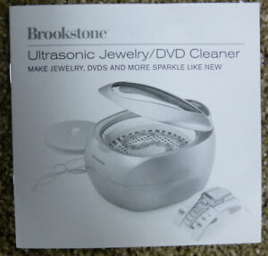 Ultrasonic jewellery cleaner by Brookstone